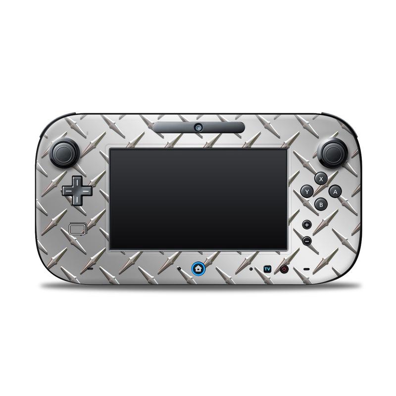 Diamond Plate Nintendo Wii U Controller Skin