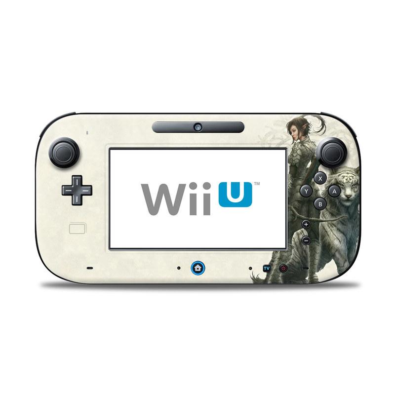 Half Elf Girl Nintendo Wii U Controller Skin