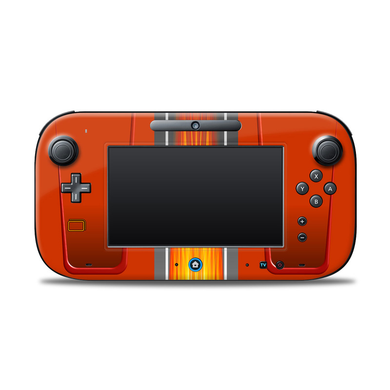 Hot Rod Nintendo Wii U Controller Skin