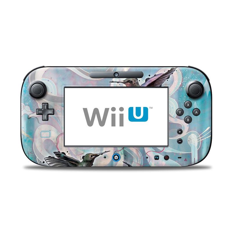Hummingbirds Nintendo Wii U Controller Skin