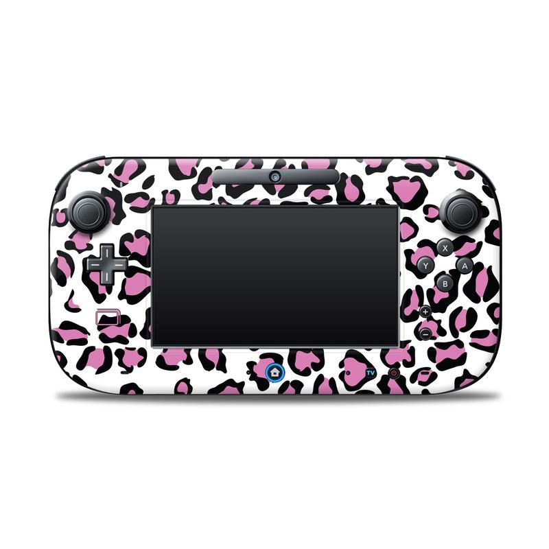 Leopard Love Nintendo Wii U Controller Skin