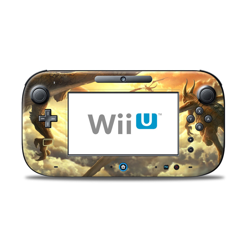 Over the Clouds Nintendo Wii U Controller Skin