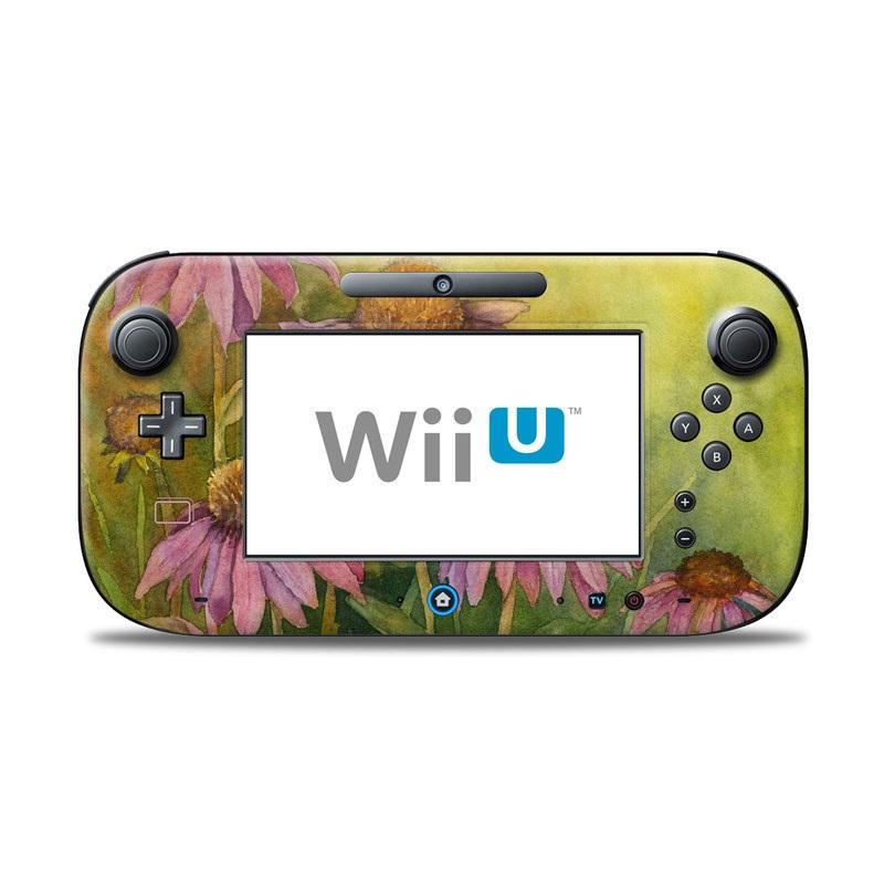 Prairie Coneflower Nintendo Wii U Controller Skin