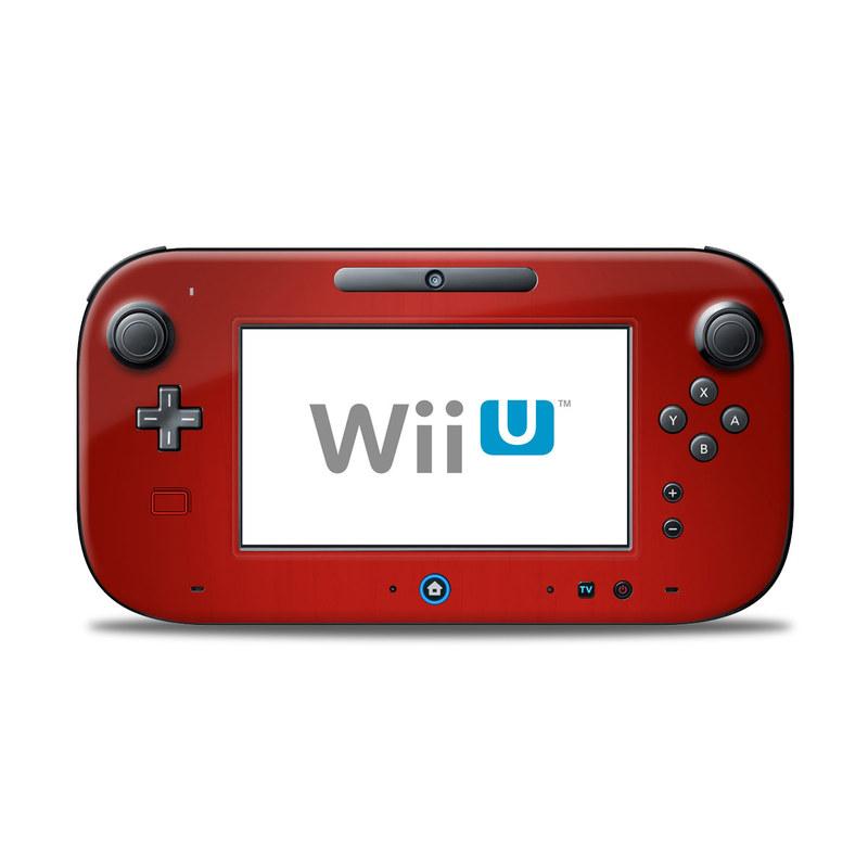 Red Burst Nintendo Wii U Controller Skin
