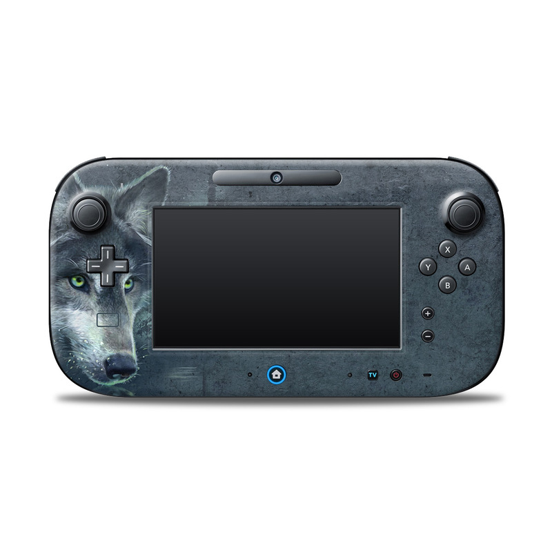Wolf Reflection Nintendo Wii U Controller Skin