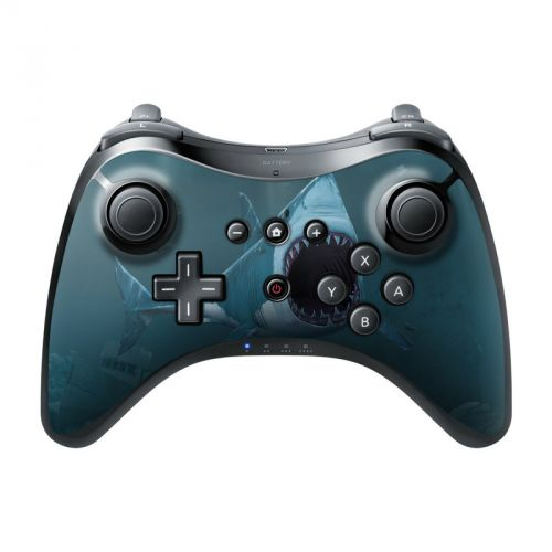 Great White Wii U Pro Controller Skin