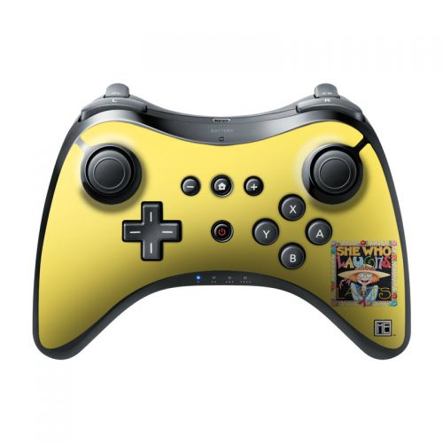 She Who Laughs Wii U Pro Controller Skin