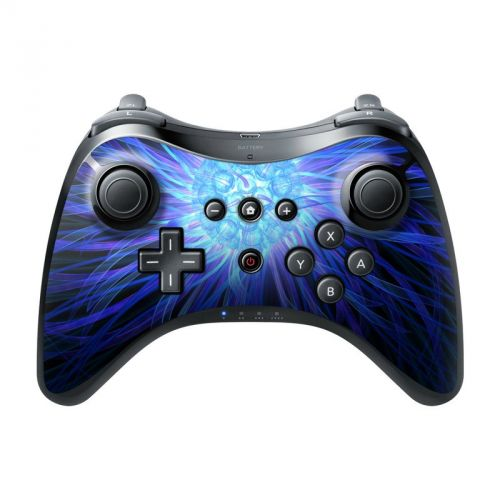 Something Blue Wii U Pro Controller Skin