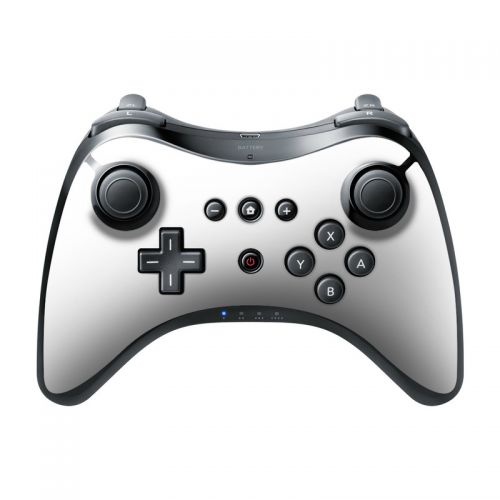 Solid State White Wii U Pro Controller Skin