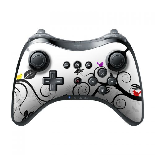 Tweet Light Wii U Pro Controller Skin