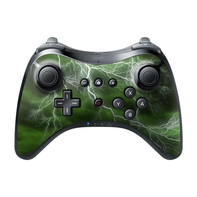Apocalypse Green Wii U Pro Controller Skin
