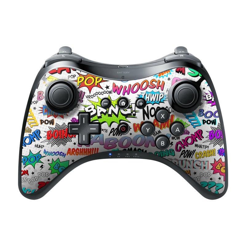 Comics Wii U Pro Controller Skin