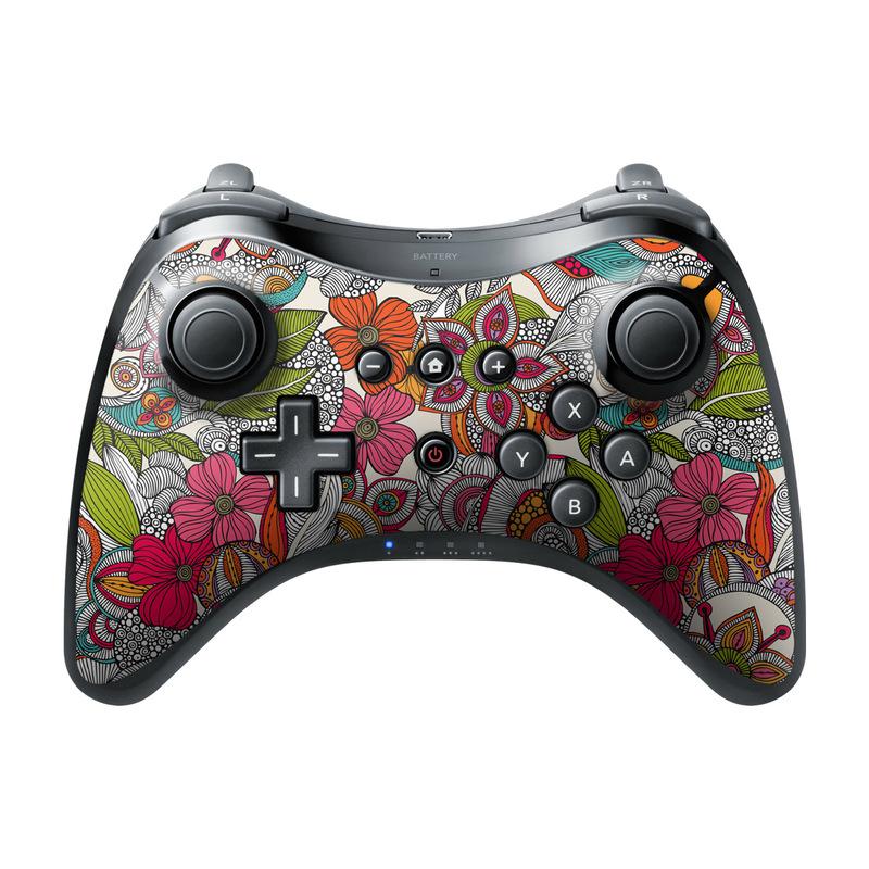 Doodles Color Wii U Pro Controller Skin