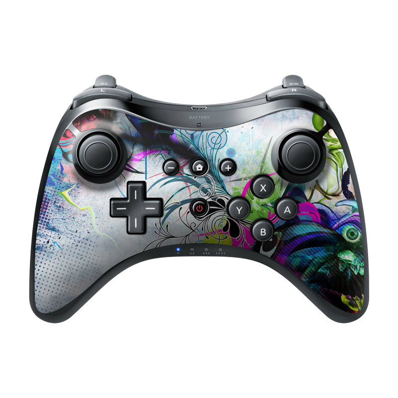 Streaming Eye Wii U Pro Controller Skin