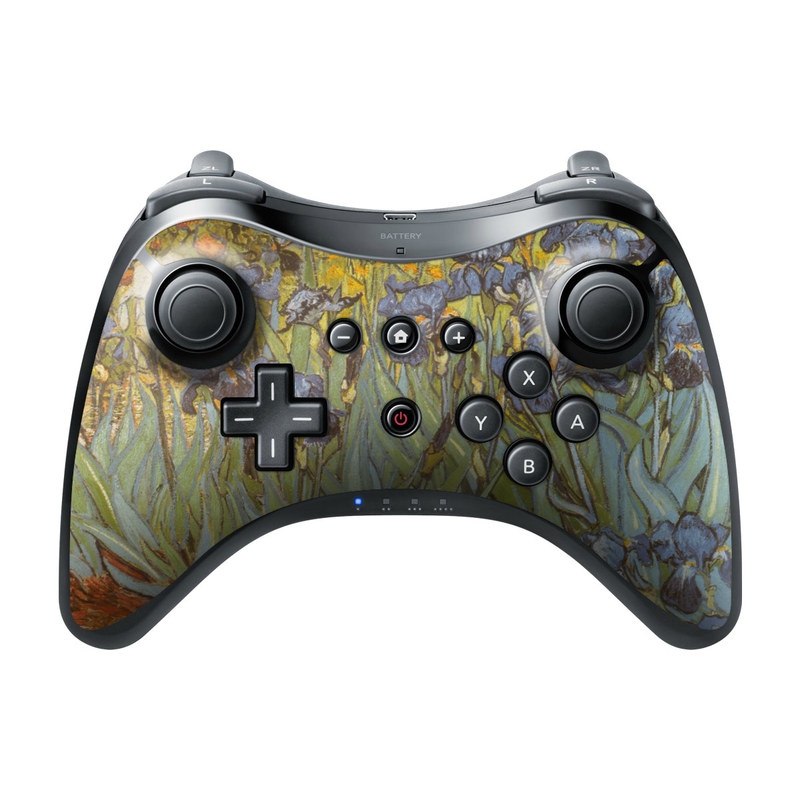 Irises Wii U Pro Controller Skin