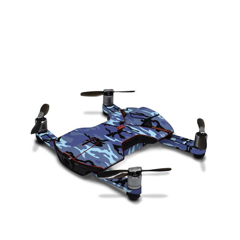Wingsland S6 Skin design of Military camouflage, Pattern, Blue, Aqua, Teal, Design, Camouflage, Textile, Uniform with blue, black, gray, purple colors