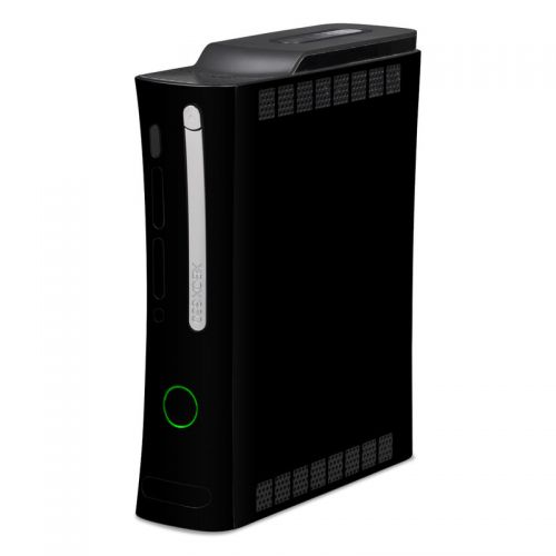 Solid State Black Xbox 360 Skin