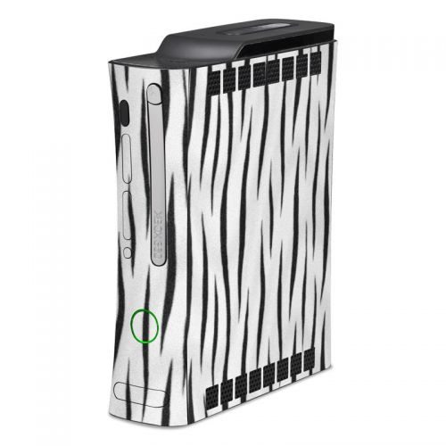 White Tiger Stripes Xbox 360 Skin