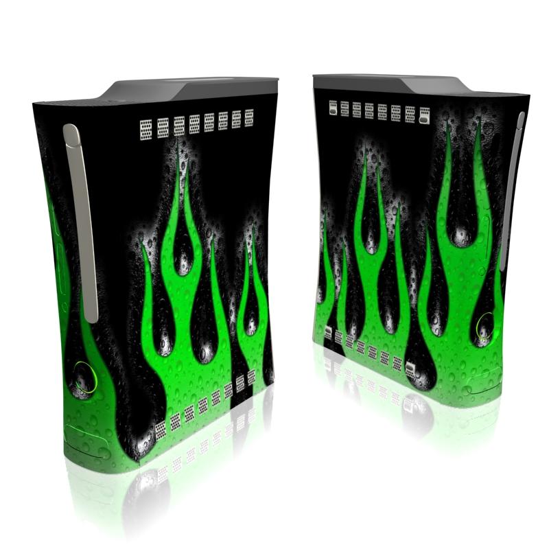 Acid Flames Xbox 360 Skin