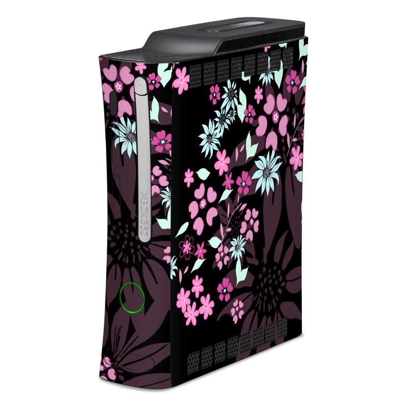 Dark Flowers Xbox 360 Skin