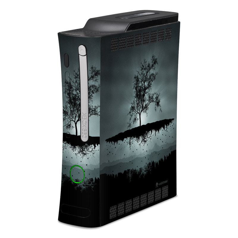 Flying Tree Black Xbox 360 Skin