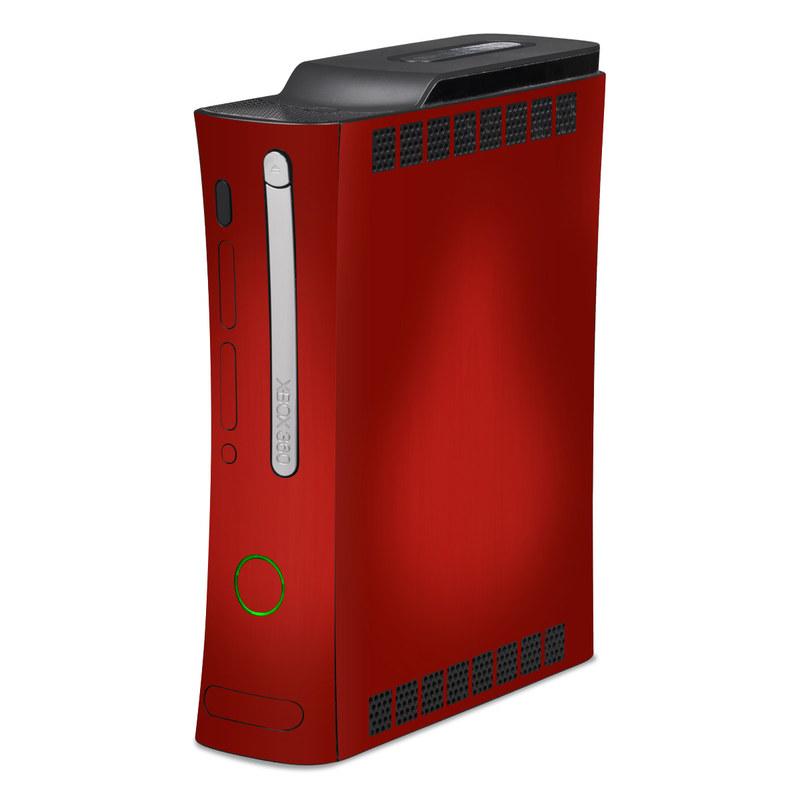 Red Burst Xbox 360 Skin