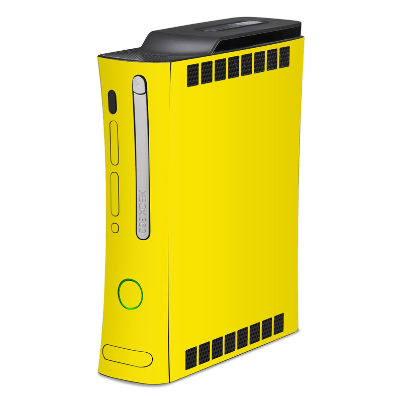 Solid State Yellow Xbox 360 Skin