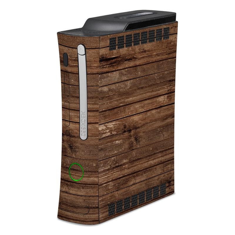 Stripped Wood Xbox 360 Skin
