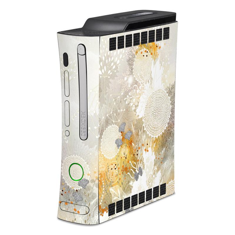 White Velvet Xbox 360 Skin