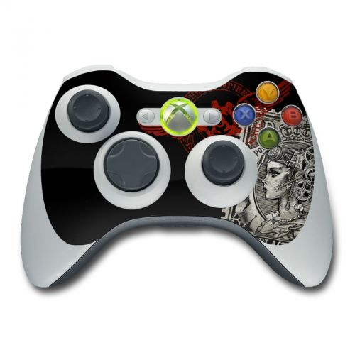 Black Penny Xbox 360 Controller Skin