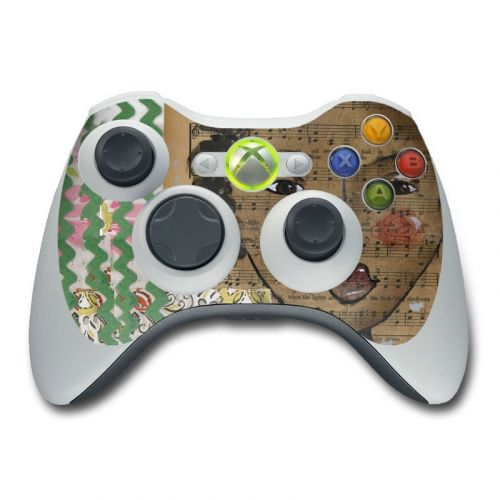 Fearless Heart Xbox 360 Controller Skin