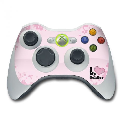 I Love My Soldier Xbox 360 Controller Skin