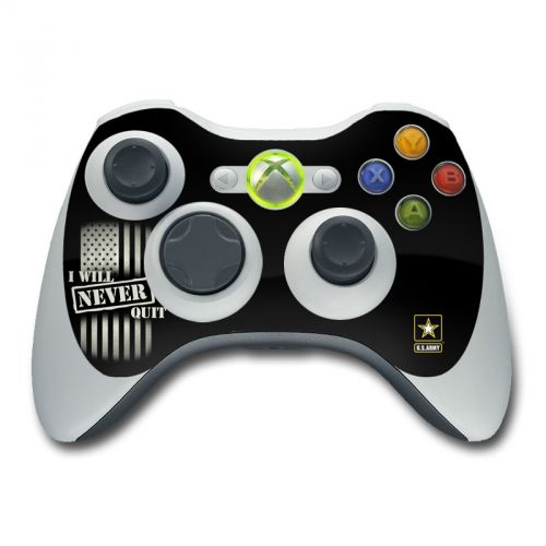 Never Quit Xbox 360 Controller Skin