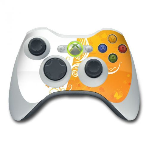 Orange Crush Xbox 360 Controller Skin
