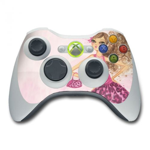 Perfectly Pink Xbox 360 Controller Skin