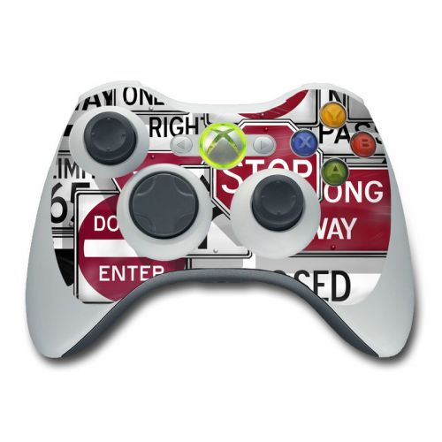 Signs Xbox 360 Controller Skin