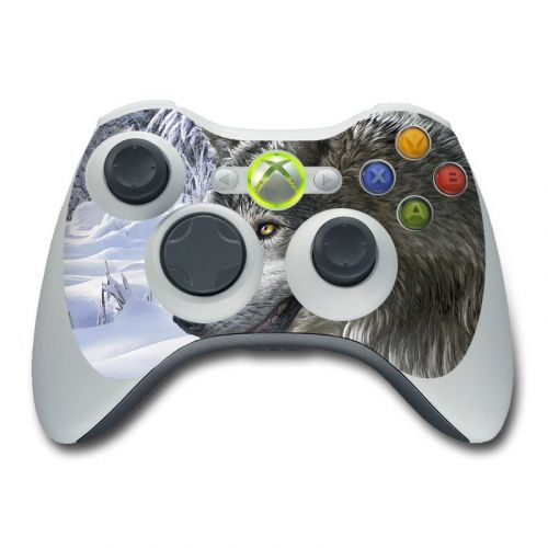 Snow Wolves Xbox 360 Controller Skin