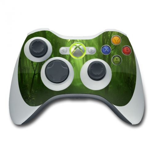 Spring Wood Xbox 360 Controller Skin