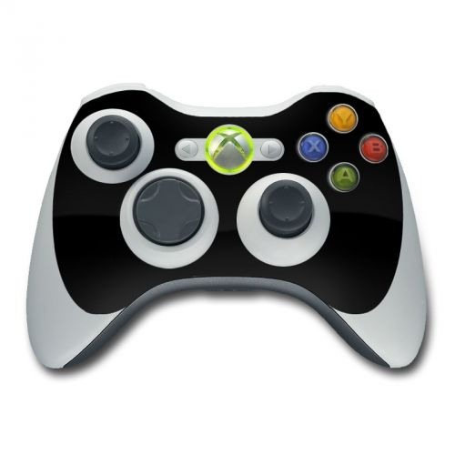 Solid State Black Xbox 360 Controller Skin