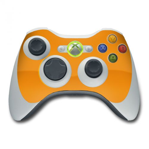 Solid State Orange Xbox 360 Controller Skin