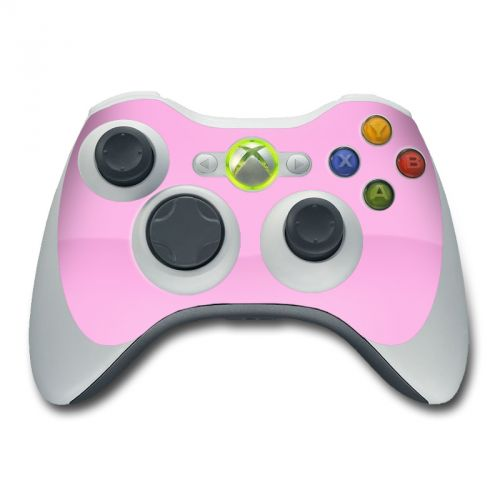 Solid State Pink Xbox 360 Controller Skin