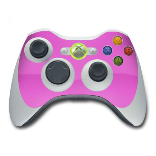 Solid State Vibrant Pink Xbox 360 Controller Skin
