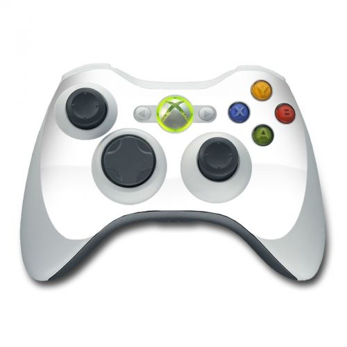 Solid State White Xbox 360 Controller Skin