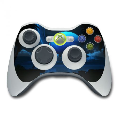 Tropical Moon Xbox 360 Controller Skin