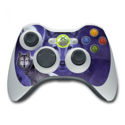 Wolf Xbox 360 Controller Skin