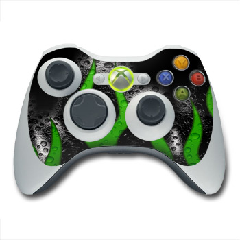 Acid Flames Xbox 360 Controller Skin
