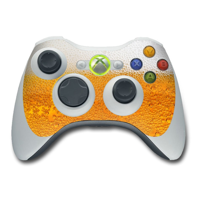 Beer Bubbles Xbox 360 Controller Skin