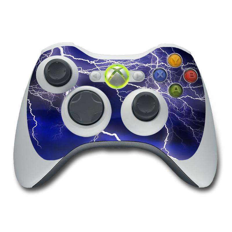 Apocalypse Blue Xbox 360 Controller Skin