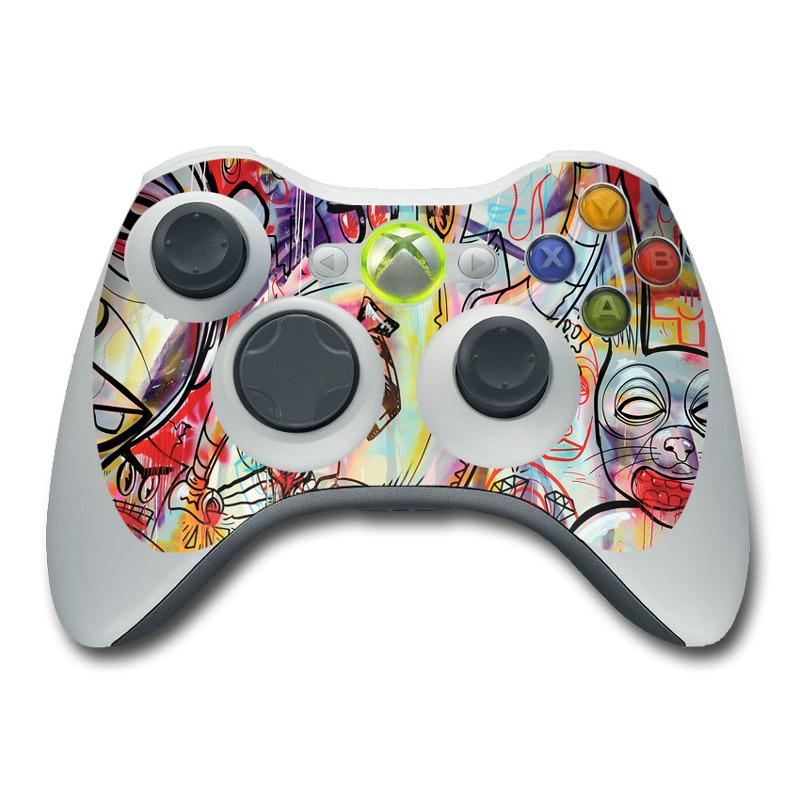 Battery Acid Meltdown Xbox 360 Controller Skin