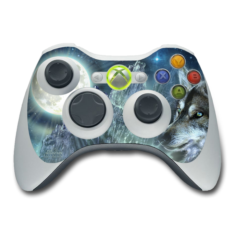 Bark At The Moon Xbox 360 Controller Skin